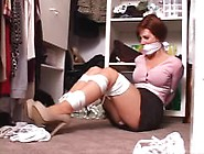 It'S Not Nice To Keep The Babysitter Tied Up And Gagged In The C