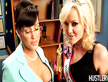 Lisa Ann And Friend In A Hot Threesome