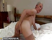 Dirty Granny With A Dripping Wet Pussy Part2