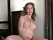 Fantastic Blonde Girl With Big Tits Jerks Off Her Boyfriend
