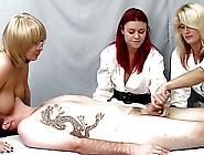 Nurse Handjob: Dd's To Keep Him Sedated