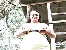 Outside Anal With Grandma