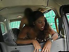 Fake Taxi Banging Sexy Ebony From Behind