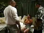 Interracial Gangbang With Ava