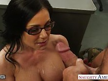Sexy Babe Kendra Lust Doused With Thick Cum