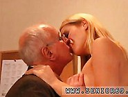Blonde Young Babe Fucked By A Smooth Old Dude After Bj