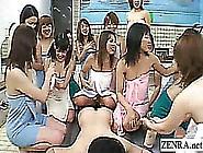 Subtitled Japanese Teacher Schoolgirls Bathhouse Harem