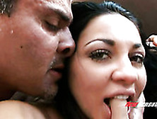 Lusty College Gal Audrey Bitoni Gets Her Anus Rammed From Behind