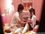 Sexy Japanese Teen Gets Fingered By Her Boyfriend