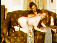 Naughty Blonde Schoolgirl Gets Spanked In Vintage Porn Scene
