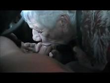 90 Year Old Granny Marg Sucks My Cock At The Car Wash.