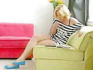 Blonde Teen Porn Star Angie Gets A Creampie