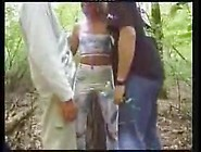 Horny German Teen Fucked In The Forest