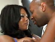 Bigtitted Curvy Afro Jessica Dawn Plays And Has Shaged By The Ch