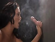 Smoke And Blowjobs In The Gloryhole