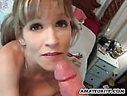 Amateur Wife Toys Her Holes And Gives A Nice Bj