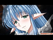 Shemale Hentai Elf With Bigboobs Fucked A Busty Anime