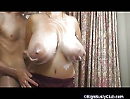 British Bbw Showers Her Massive Juggs