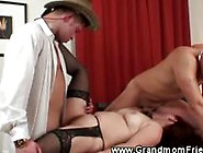 Granny Riding Reverse Cowgirl And Sucking Cock