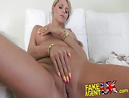 Stunning Blonde Czech Chick Falls For Fake Sex Casting