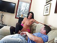 Sweet John Strong Fucks Nadia Night's Pussy Enthusiastically