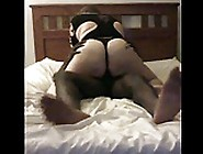 Big Booty White Wife Sucks Bbc & Fucked By Young Black Stud
