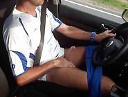 Driving Fast,  Jerking Hard