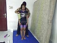 [Mummification. Net] Swimsuit Girl In Mummification,  Stimulation