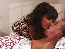 Lisa Ann And Jade Nile Caught In A Hot Threesome With A Lucky St