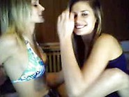 2 Hot Teens Playing On Webcam