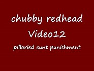 Chubby Redhead Pilloried Cunt 1523
