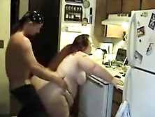 Ssbbw Fucked In The Kitchen