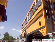 Schoolgirl Natalie Fucked In School Bus By Her Nasty Classmate
