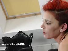 Arabian Mistress Cecilia Fernandez Slaps Her Slave