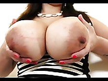 Busty Babe Plays With Her Tits And Dildos Her Pussy