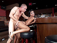 Icy Hot Latina Cowgirl In High Heel Swallows Cum After Getting D
