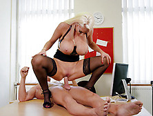 Nicolette Shea Fucking During Her Job Interview