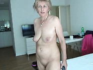Long Blonde Granny Whore Riding Cock