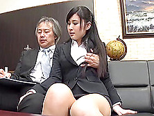 Seino Just Loves When Her Boss Decides To Penetrate Her On The C