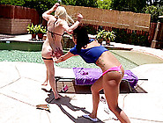 Lesbian Lovers Put Their Oral Skills To Work Licking Their Assho