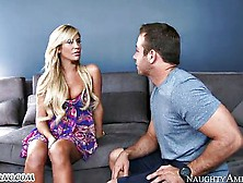 Experienced Blonde Knows How To Seduce Young Boys