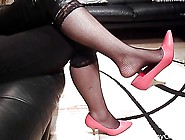 Naomi Red Shoeplay