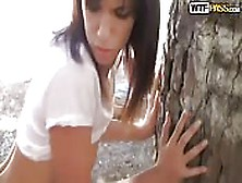 Spanish Girl Fucked In The Woods