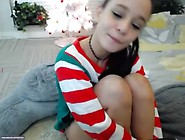 Teen Santa Claus Fucking Herself - See Her Live Here Hotteencams