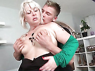 Mommy With A Lusty Mouth Sucks A Dick