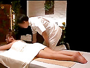 Japanese Girl Gets Fucked During Massage