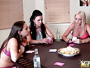 This Game Of Strip Blackjack With Alyssa Reece,  Celeste Star And