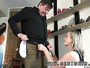 Mom Fucks Teen Daughter First Time Woody Is Selling Boots To