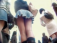 Asian Girl On Hot Panty And Long Legs Up Skirt Video Dvd Dtsh-37