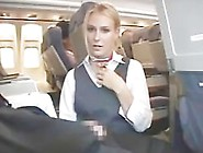 Amwf Blonde Flight Attendant Interracial With Asian Guy